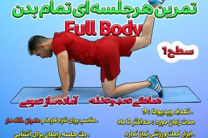 ورزش با وزن بدن